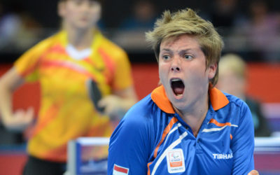 Kelly van Zon wint Dutch Open Para Table Tennis in Stadskanaal